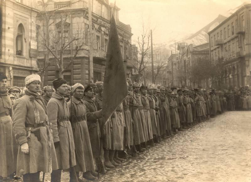 Парад РККА 1918 года