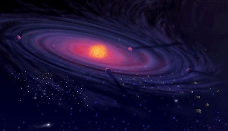 Первые представления о туманности Андромеды
