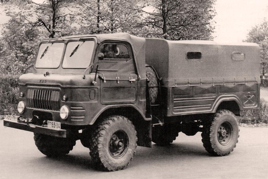 Последняя модель ГАЗ-62