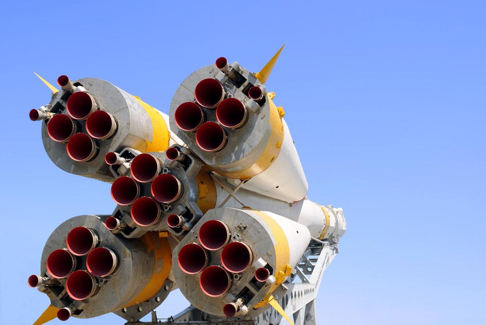 Ракета с реактивными двигателями