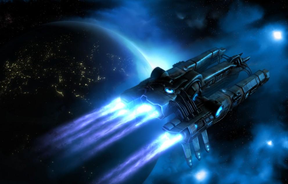 Ракетный корабль будущего