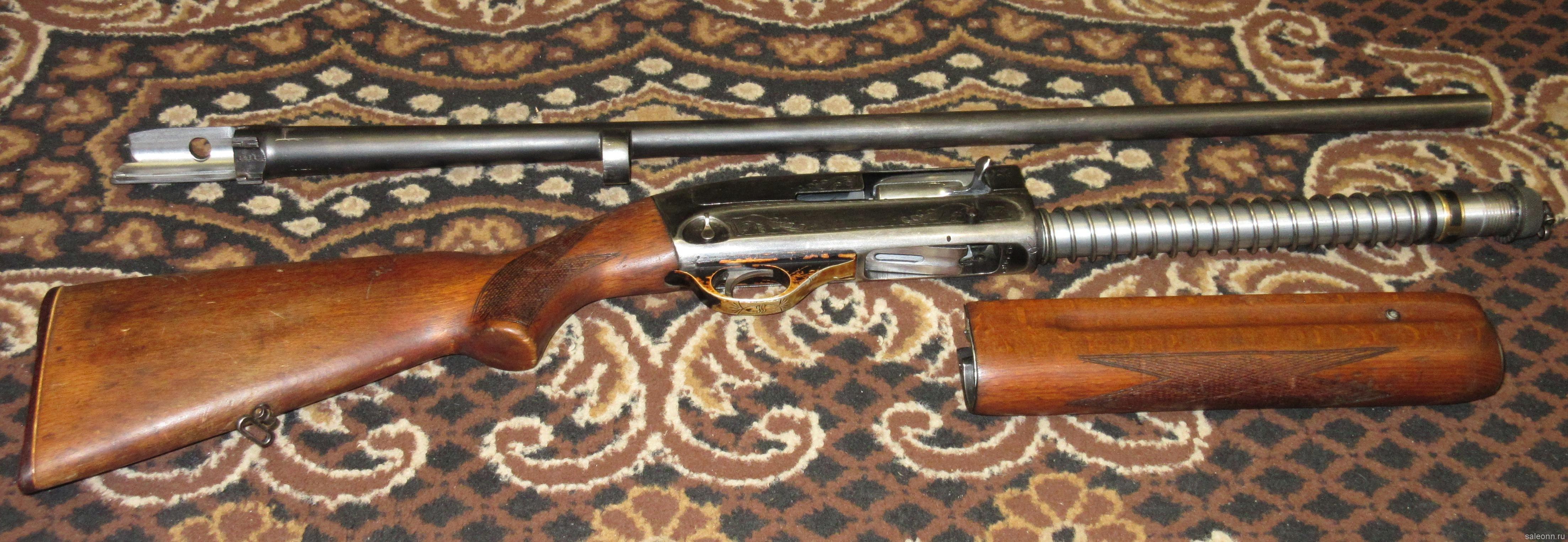 Разобранное ружье МЦ-21