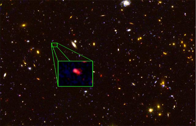 Самая дальняя галактика