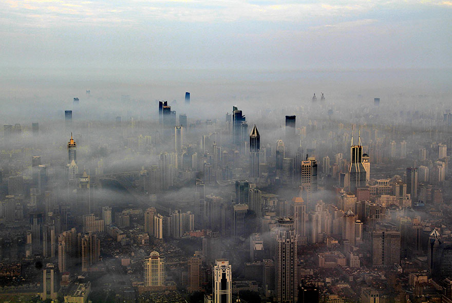 Шанхай в дыму