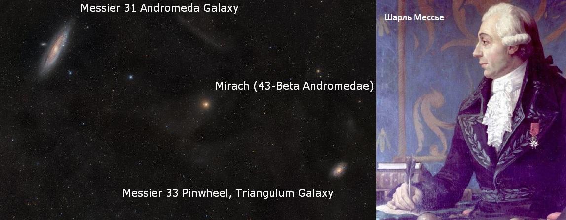 Шарль Мессье и М31
