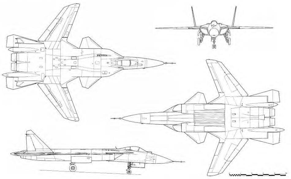Схема Су-47