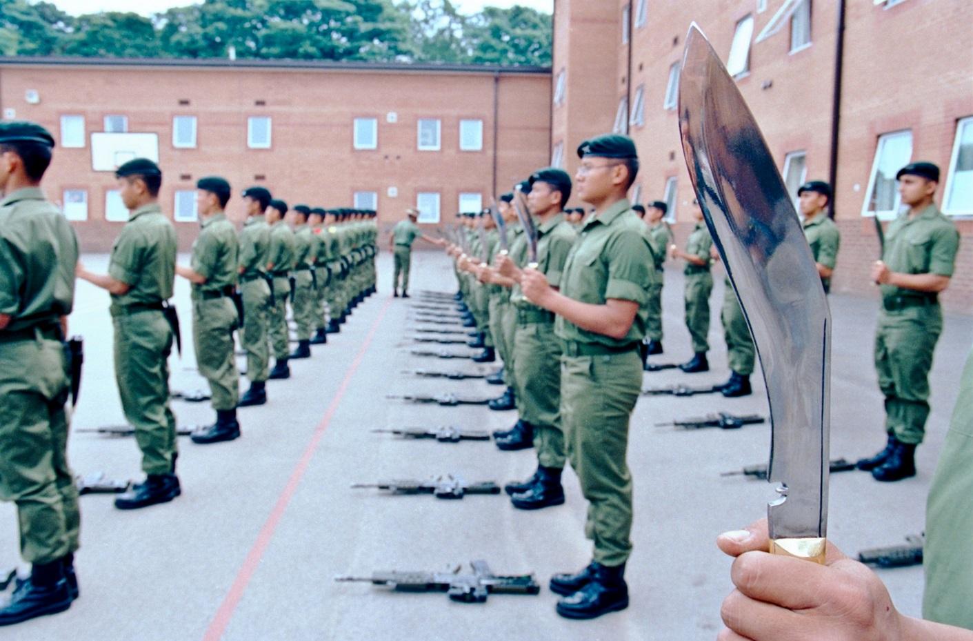 Солдаты с кукри