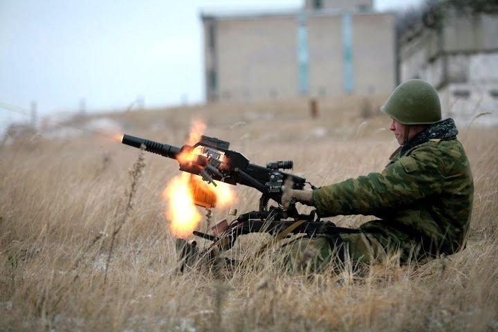 Стрельба из АГС-17