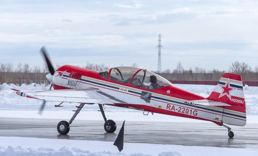 Су-29 на ВПП