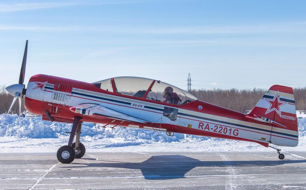 Су-29 с пилотом