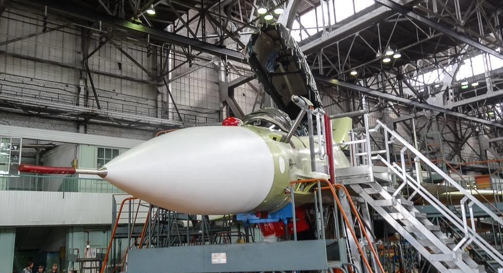 Су-30СМ на заводе