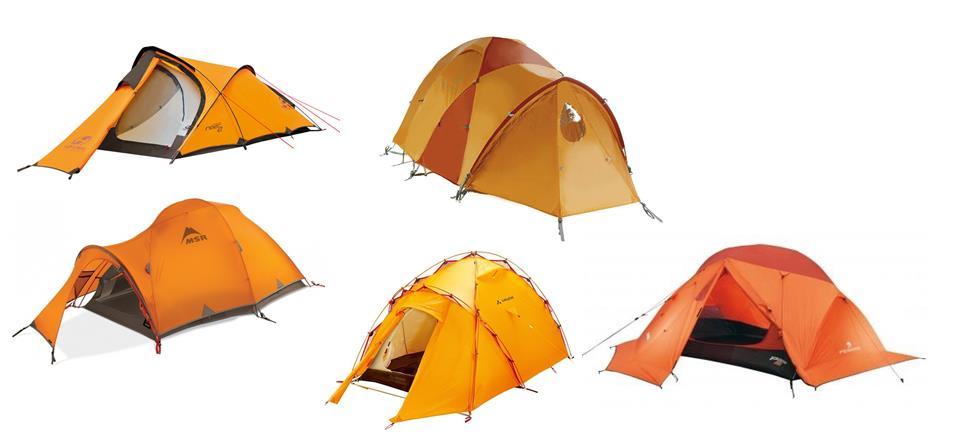 Виды палаток