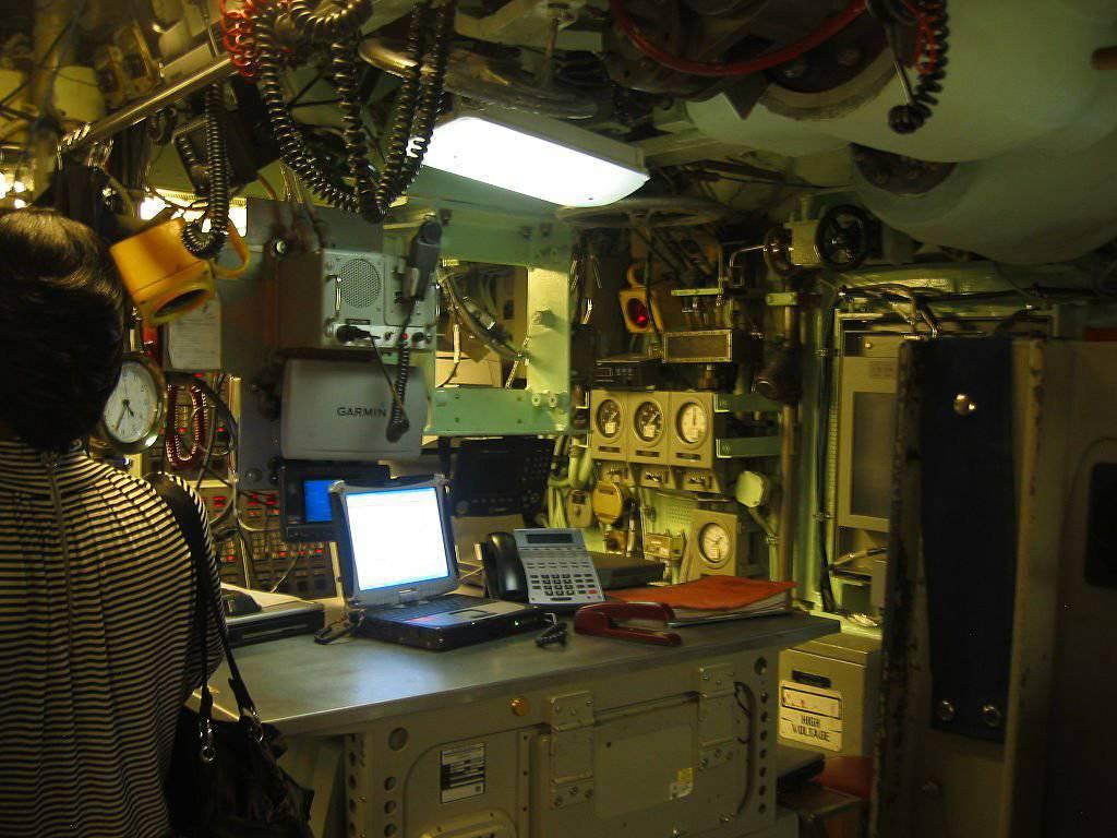 Внутренние помещения корабля