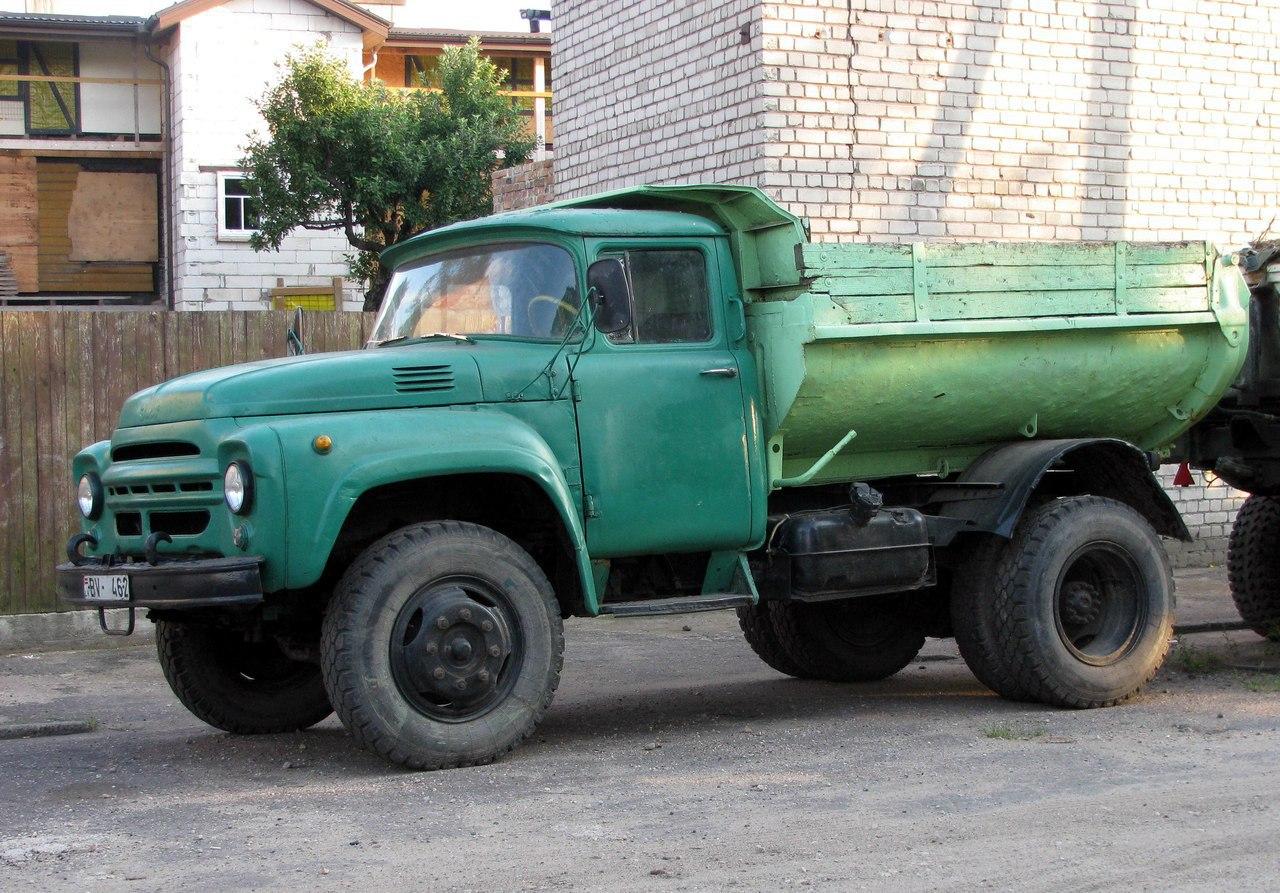 ЗИЛ-130 с самосвальным кузовом