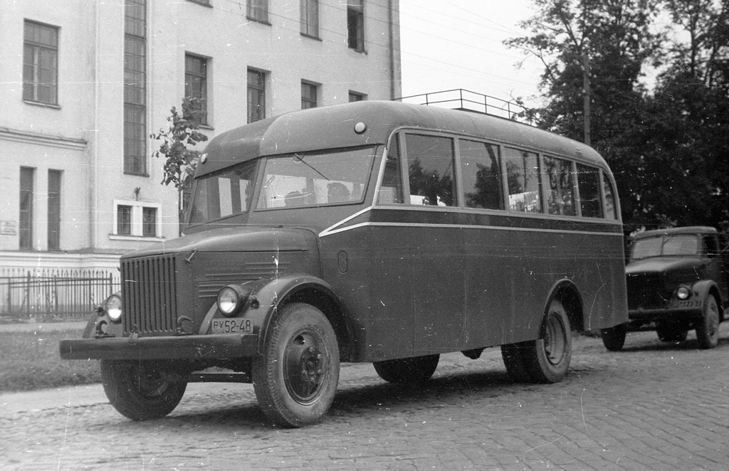 Автобус на базе ГАЗ-51