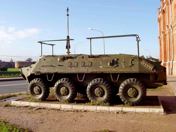 БТР-60 без башни