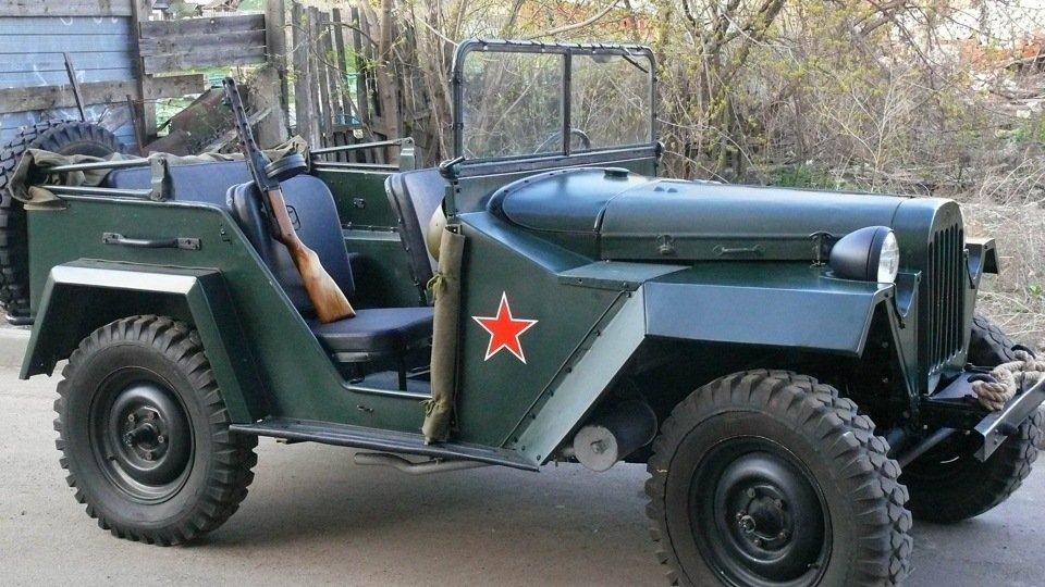 Джип ГАЗ-67