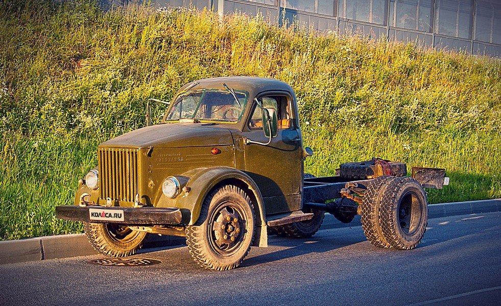 ГАЗ-51 без кузова