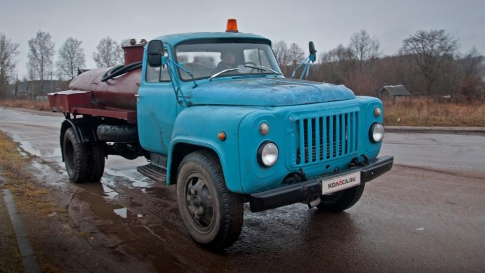 ГАЗ-52 с цистерной