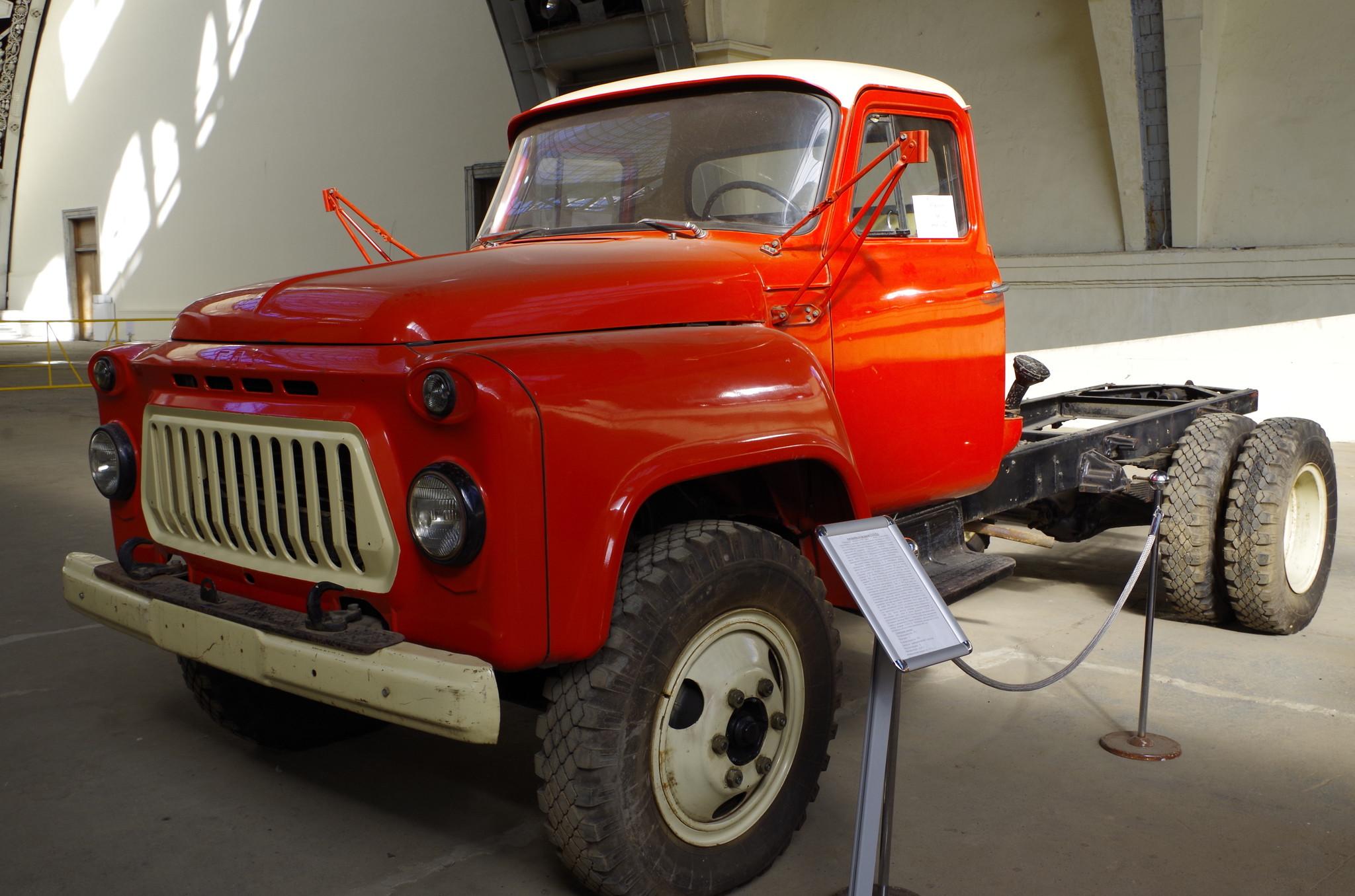 ГАЗ-53 без кузова