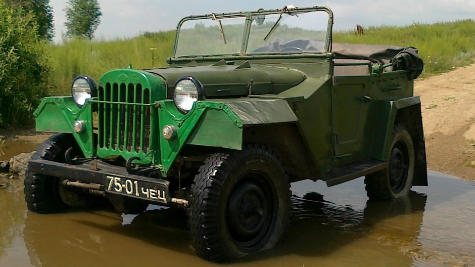 ГАЗ-67 с дверцами