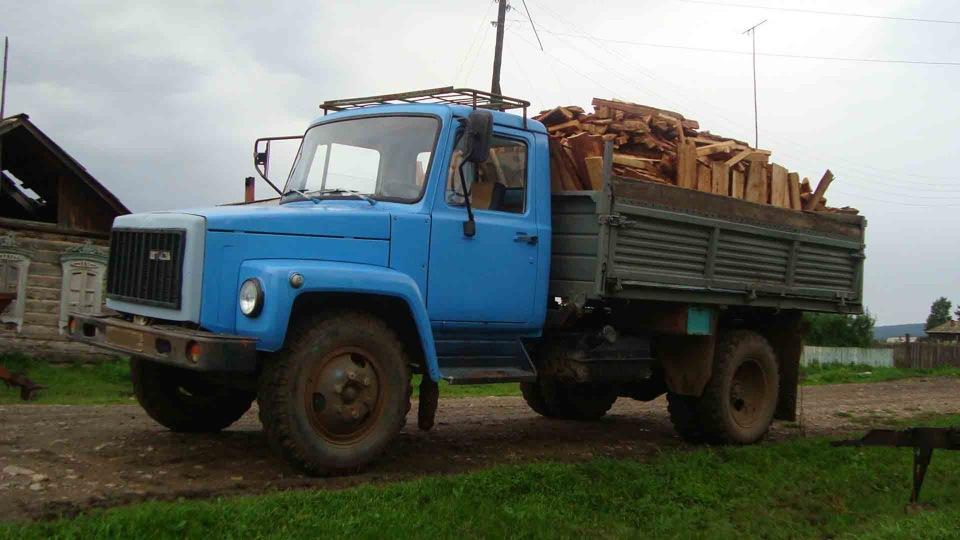 Груженный ГАЗ-3307