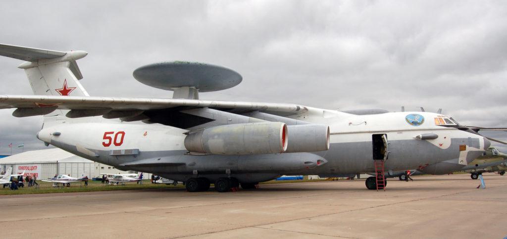 А-50 на выставке