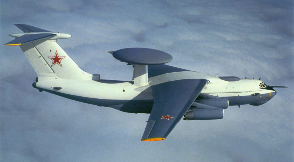 А-50 над облаками