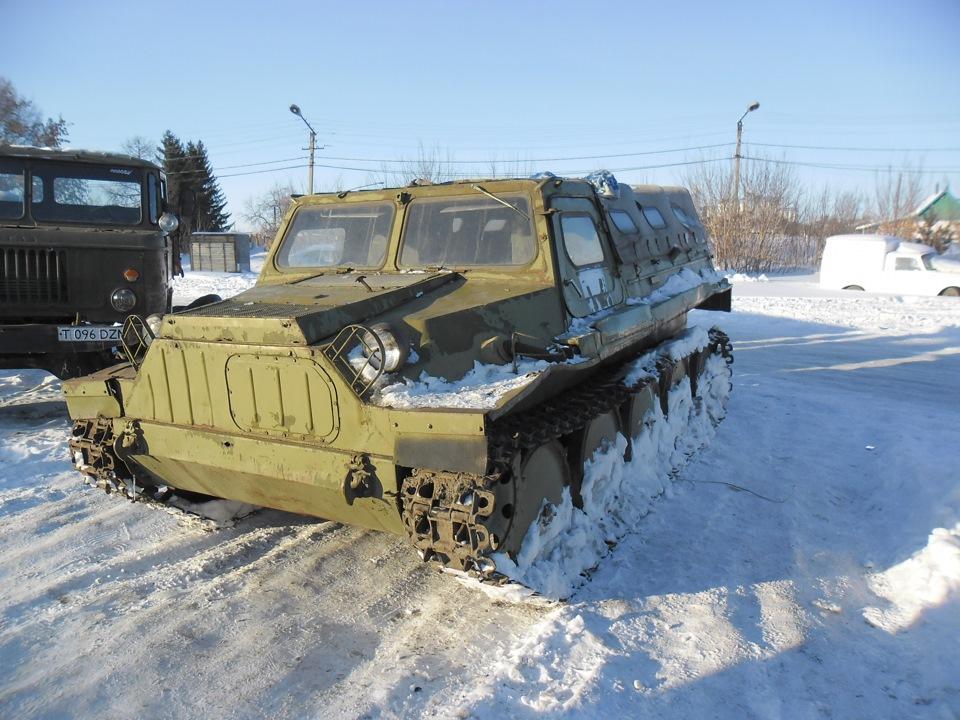 ГАЗ-47 на снегу