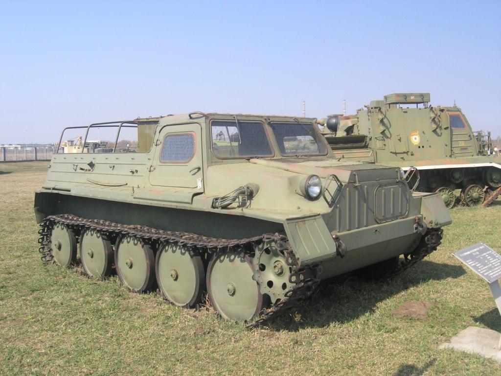 ГАЗ-47 на выставке