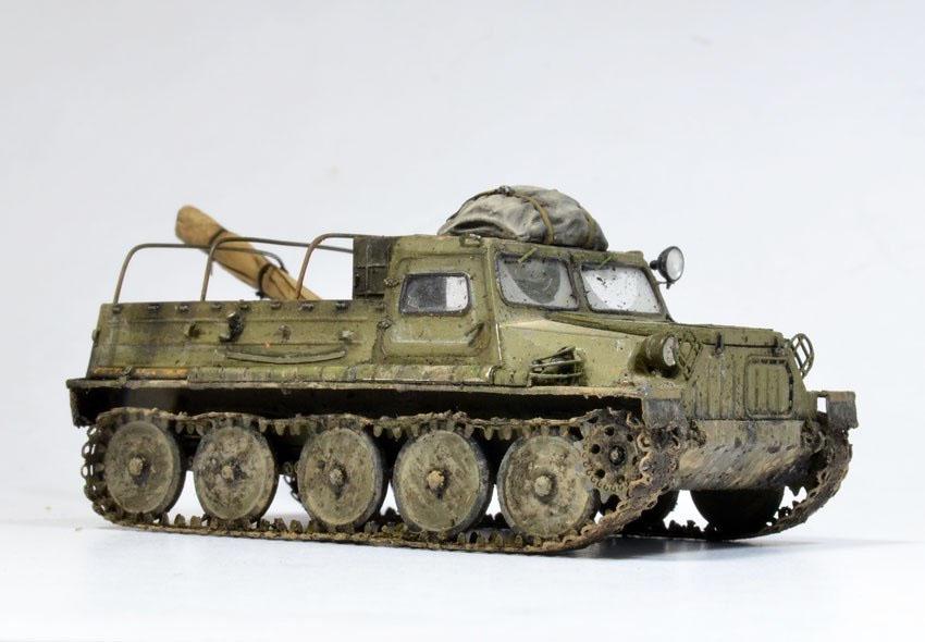 ГАЗ-47 с багажом