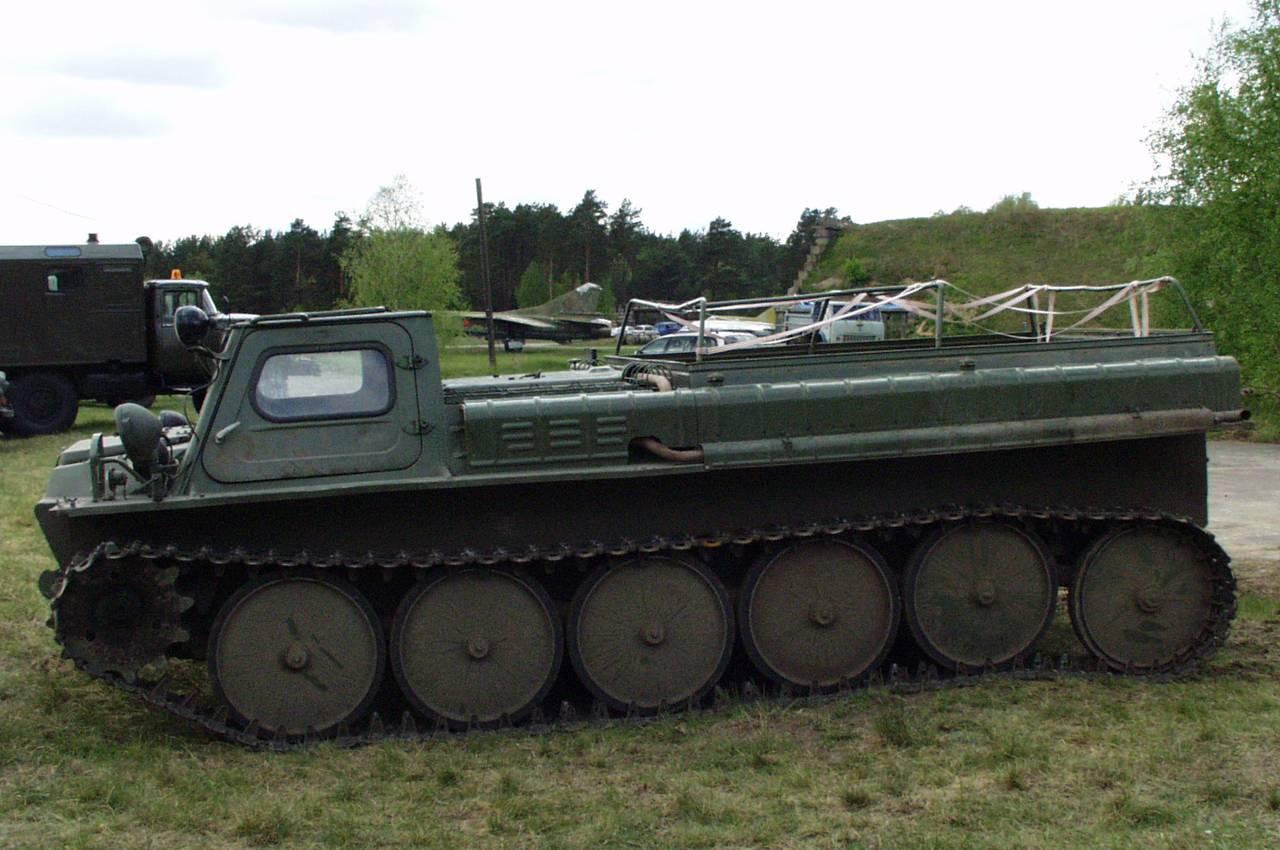 ГАЗ-47, вид сбоку