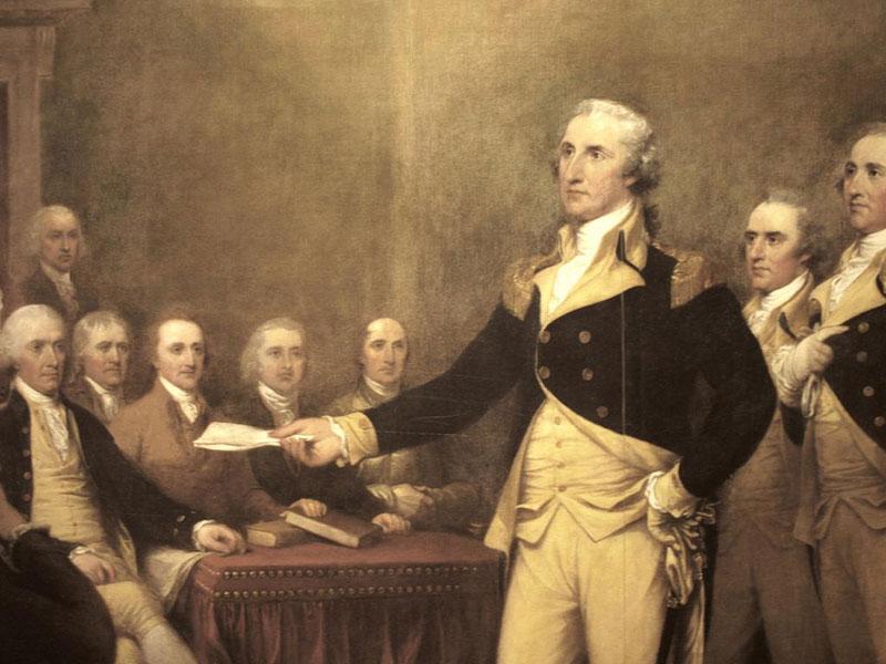 Избрание Джорджа Вашингтона