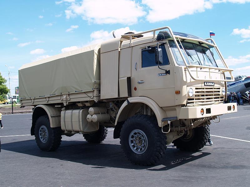 КамАЗ 4911 для пустыни