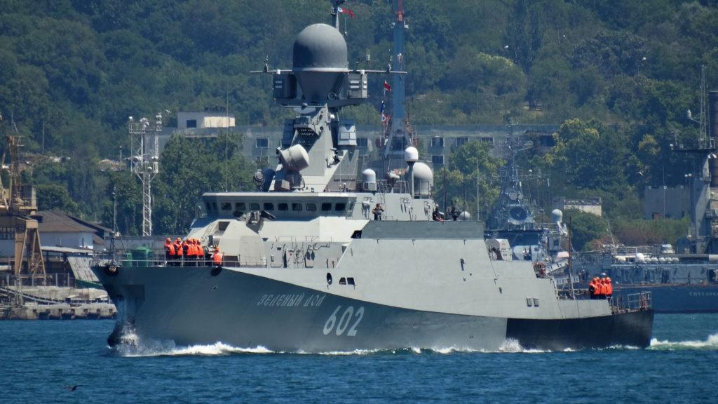 """Корабль проекта 21631 """"Буян-М"""""""