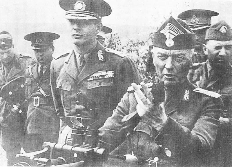 Король Михай I и Антонеску