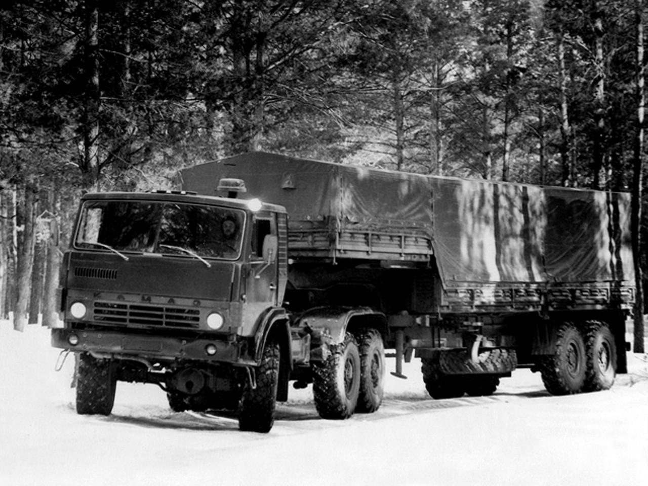 Модификация КАМАЗ-4310