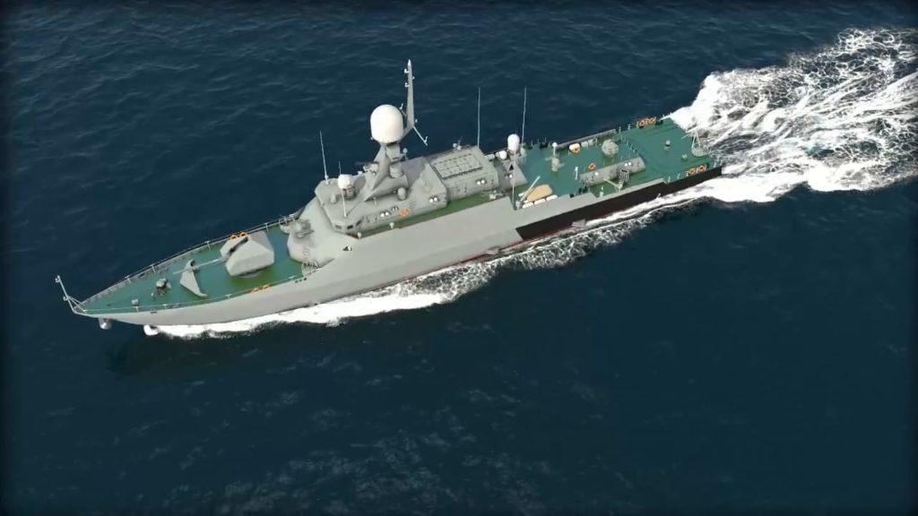 МРК проекта 21631 в море