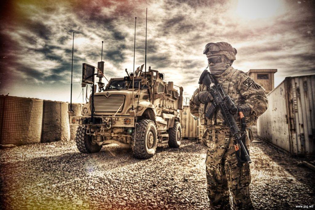 Наемник и военная техника