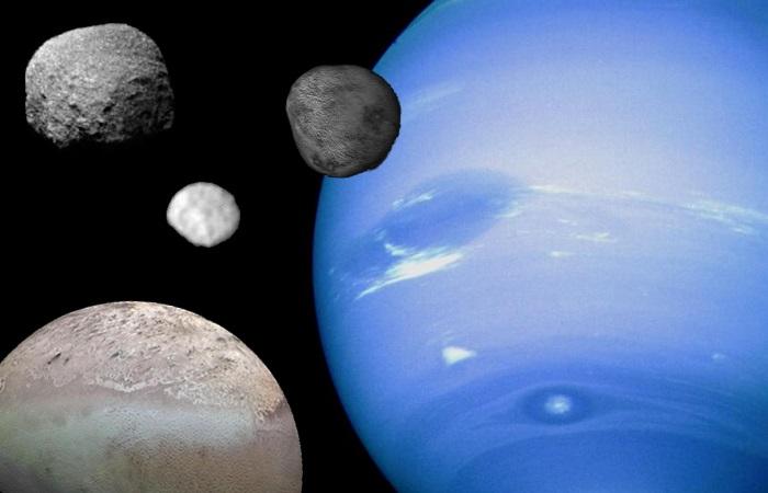 Нептун и его спутники