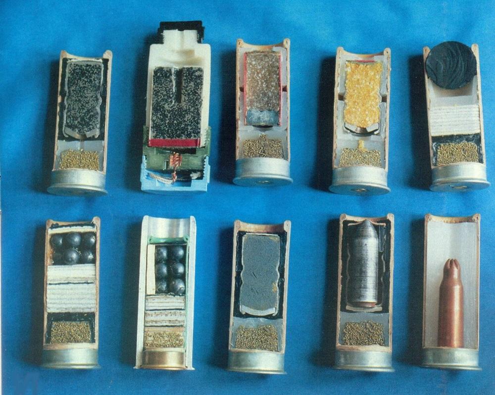 Номенклатура боеприпасов для дробовика