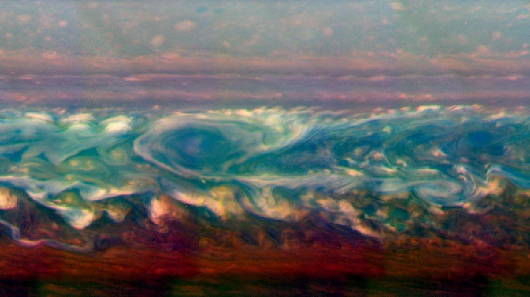 Облачность Сатурна