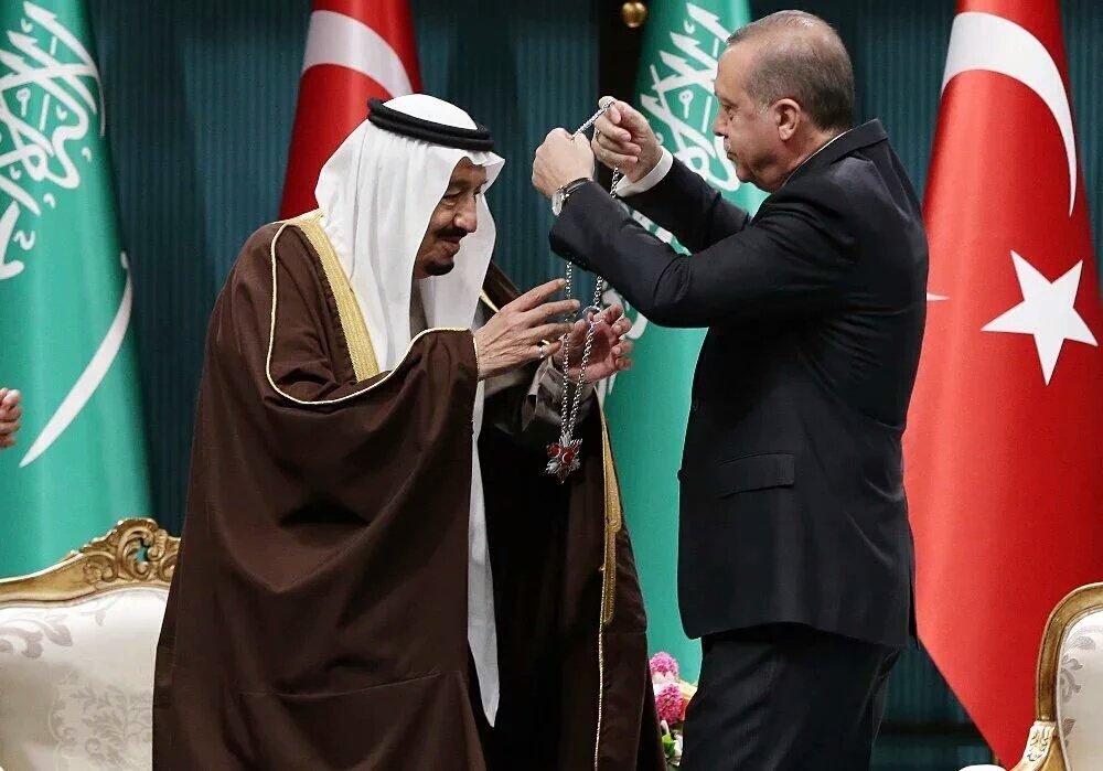 Салман и Эрдоган