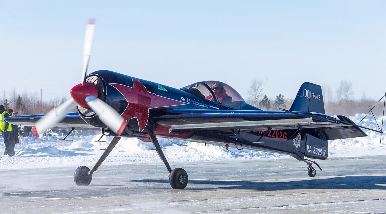 Су-31 на морозе