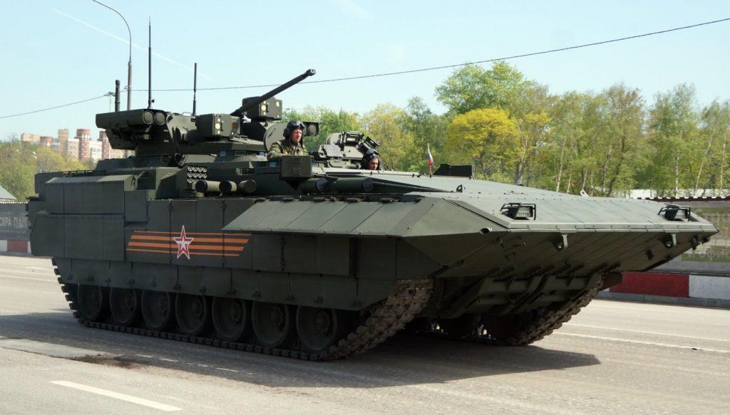 Т-15 на дороге