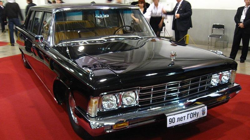 ЗИЛ-114 на выставке
