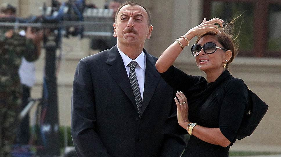 Ильхам Алиев с женой