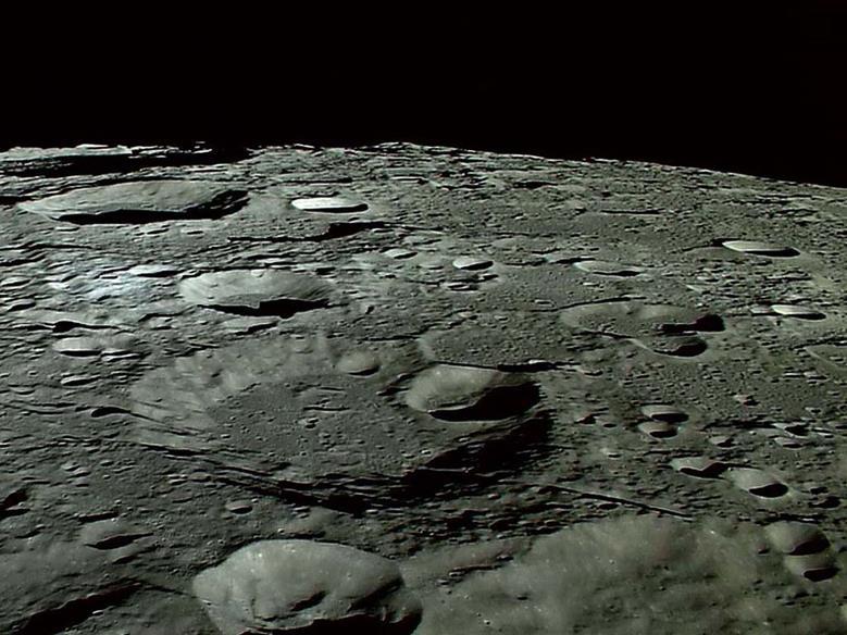 Лунные ударные кратеры
