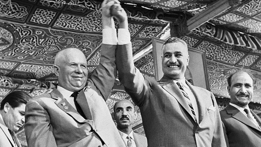 Насер и Хрущёв