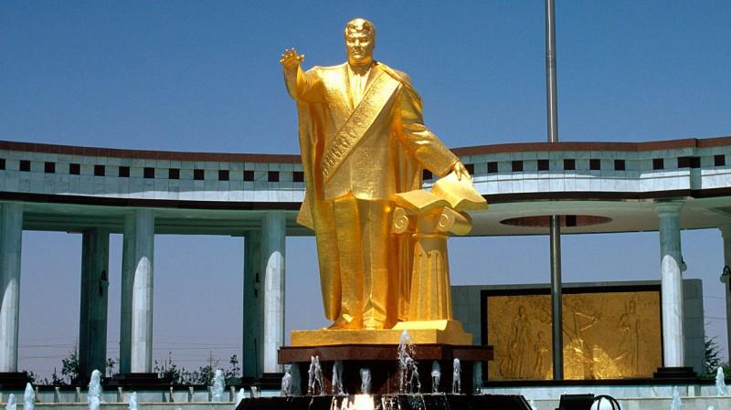 Статуя президента